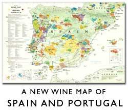 Iberian Wine Map
