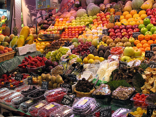 Fruit at the Boqueria, Barcelona