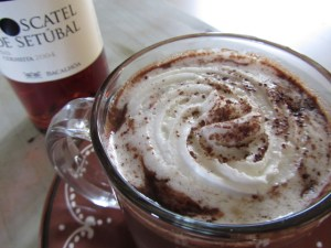 hot chocolate moscatel