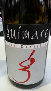 Guimaro Finca Capeliños bottle