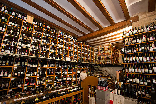 Wine shops Barcelona