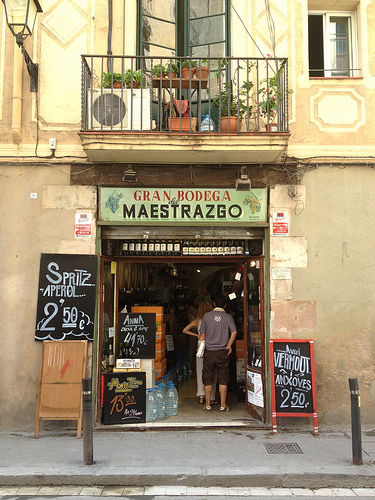 Barcelona Wine Shop