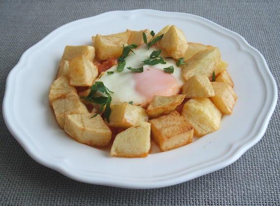 Poached Portuguese Egg