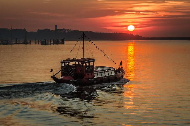 Porto Boat Sunset