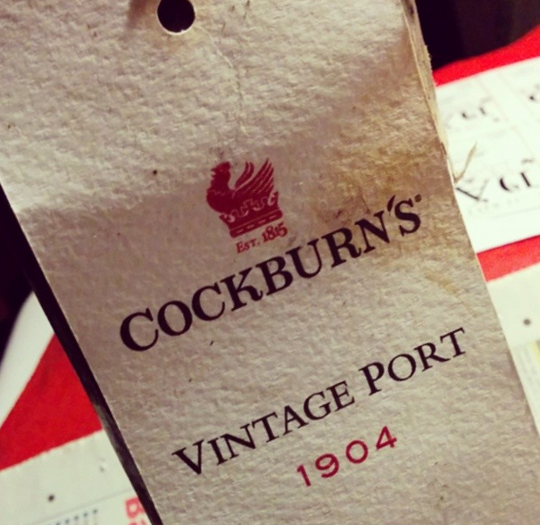 Cockburns Vintage Port 1904