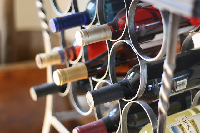 Spanish Wine Rack