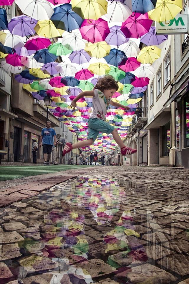The umbrellas of Aveiro