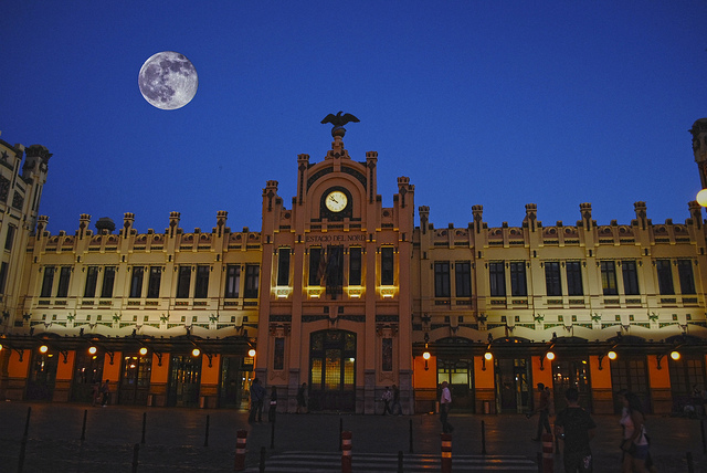 Spanish train station