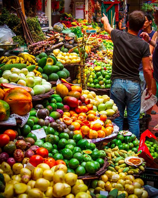Lavadores Mercado Madeira Portugal