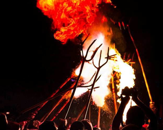 Fire Festival Spain