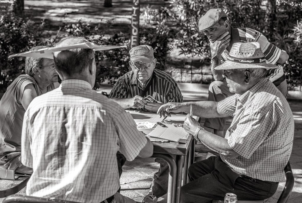 The Card Sharks of Madrid